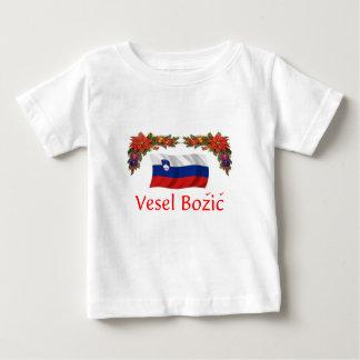 Slovenia Christmas Baby T-Shirt