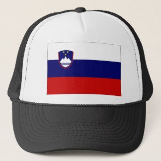 Slovenia Civil Ensign Trucker Hat