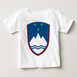 Slovenia Coat of Arms Baby T-Shirt