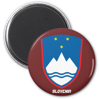 Slovenia Coat of Arms Magnet