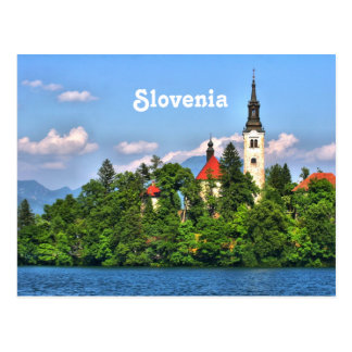 Slovenia Countryside Postcard