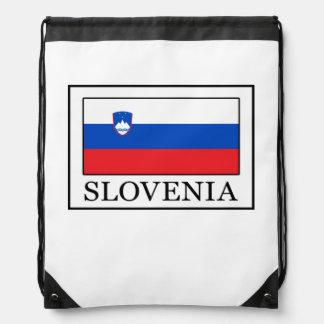 Slovenia Drawstring Bag