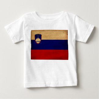 Slovenia Flag Baby T-Shirt