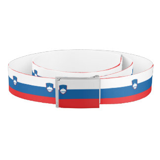 Slovenia Flag Belt