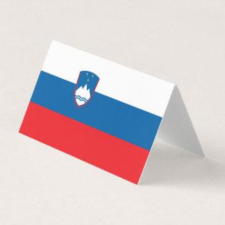 Slovenia Flag Business Card