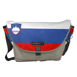 Slovenia Flag Commuter Bags