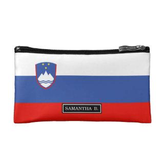 Slovenia Flag Cosmetic Bag