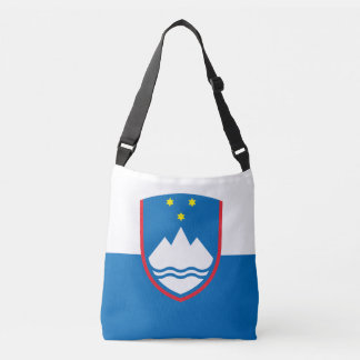 Slovenia Flag Crossbody Bag