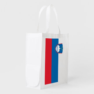 Slovenia Flag Grocery Bag