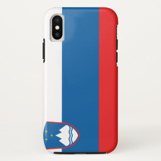 Slovenia Flag iPhone X Case