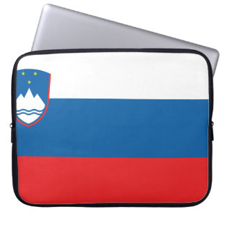 Slovenia Flag Laptop Sleeve