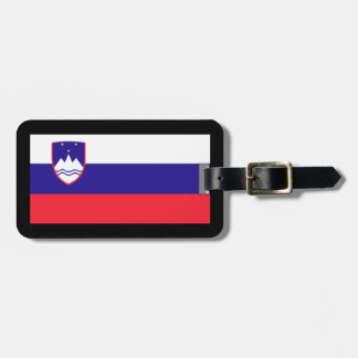 Slovenia Flag Luggage Tag