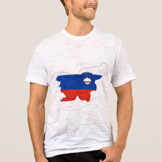 Slovenia flag map T-Shirt