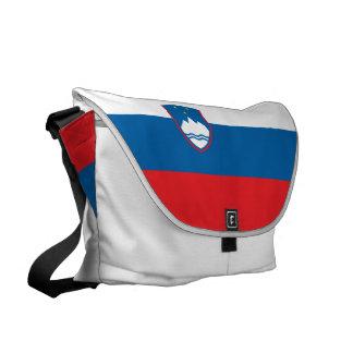 Slovenia Flag Messenger Bag