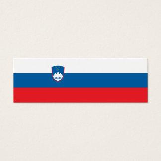 Slovenia Flag Mini Business Card