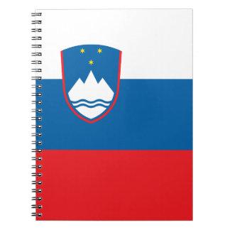 Slovenia Flag Notebook