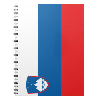 Slovenia Flag Notebooks