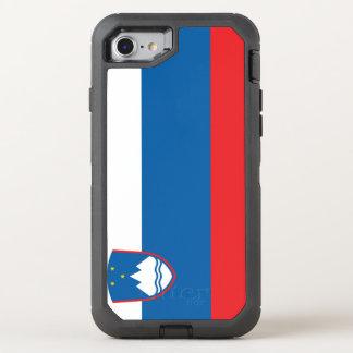 Slovenia Flag OtterBox Defender iPhone 8/7 Case