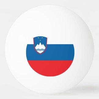 Slovenia Flag Ping Pong Ball
