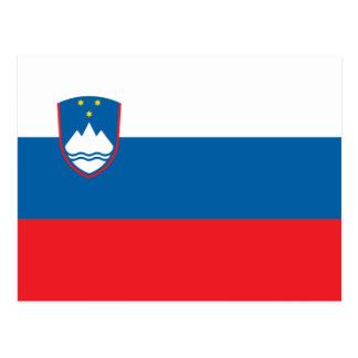 Slovenia Flag Postcard