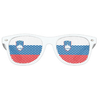 Slovenia Flag Retro Sunglasses
