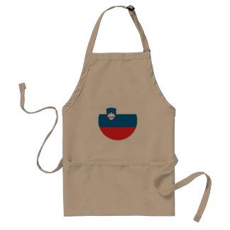 Slovenia Flag Standard Apron