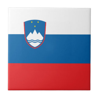 Slovenia Flag Tile
