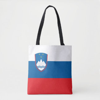 Slovenia Flag Tote Bag