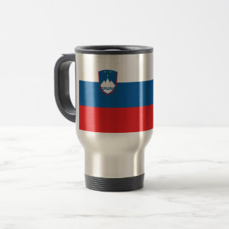 Slovenia Flag Travel Mug