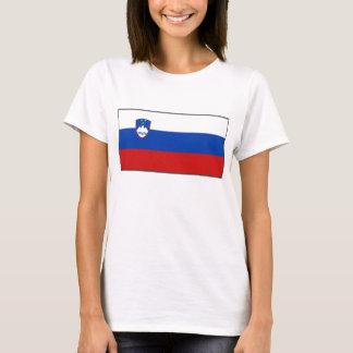 Slovenia Flag x Map T-Shirt