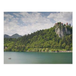 SLOVENIA, GORENJSKA, Bled: Bled Castle & Postcard
