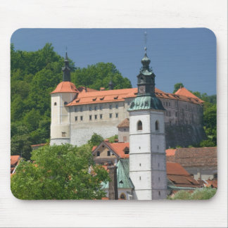 SLOVENIA, GORENJSKA, Skofja Loka: Church of St. Mouse Pad