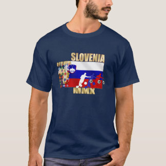 Slovenia large flag 32 qualifying countries gifts T-Shirt