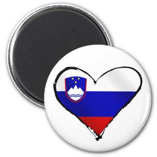 Slovenia Love - I heart Slovenia flag gifts Magnet