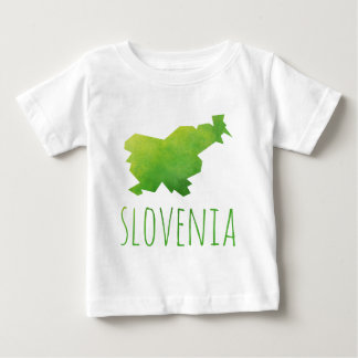 Slovenia Map Baby T-Shirt
