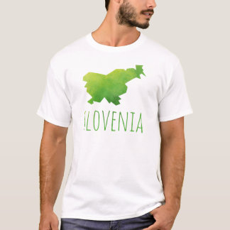Slovenia Map T-Shirt