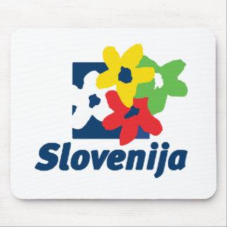 Slovenia Mouse Pad