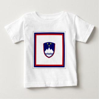 Slovenia President Flag Baby T-Shirt