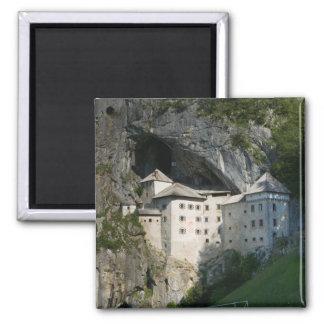 SLOVENIA, RANJSKA, Predjama Castle: 16th Square Magnet