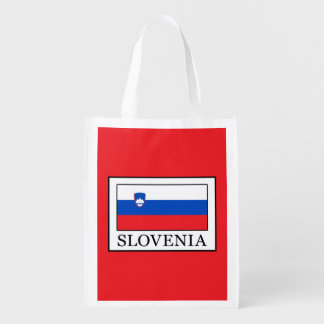 Slovenia Reusable Grocery Bag