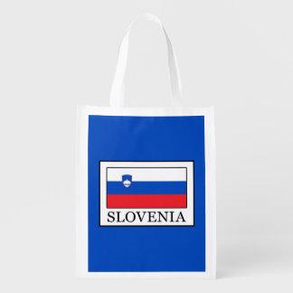 Slovenia Reusable Grocery Bag