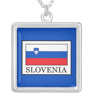 Slovenia Silver Plated Necklace