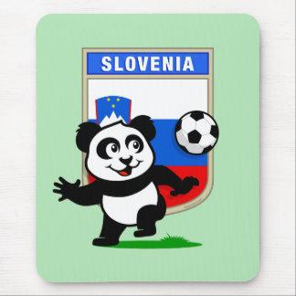 Slovenia Soccer Panda Mouse Pad