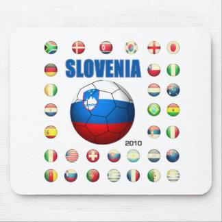 Slovenia T-Shirt Mouse Pad