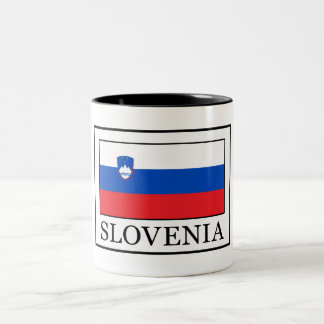 Slovenia Two-Tone Coffee Mug