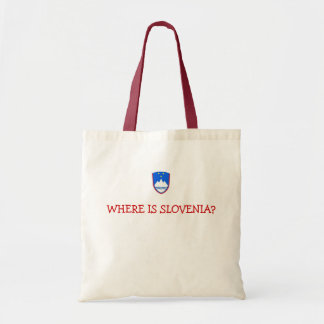 slovenia, WHERE IS SLOVENIA? Tote Bag