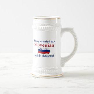 Slovenian Builds Character Mug