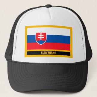 Slovensko Flag Trucker Hat