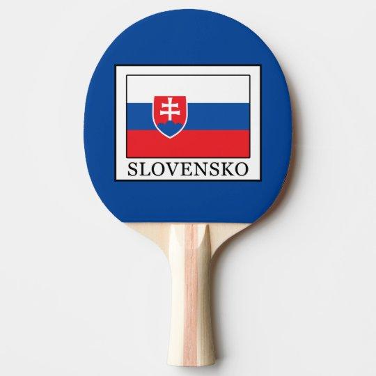 Slovensko Ping Pong Paddle