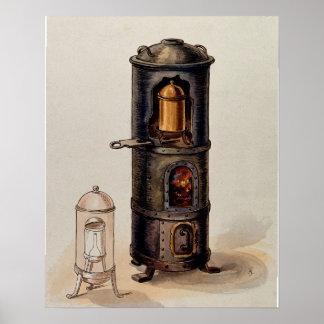 Slow-burning Alchemy Furnace Poster